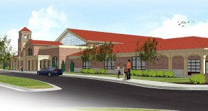 St. Ignatius Catholic School will be built on the ground of Holy Apostles Catholic Church in Meridian. Image courtesy of Holy Apostles Catholic Church.