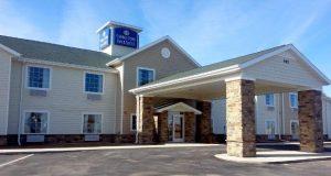 The Cobblestone Inn in Soda Springs will have the same design as this Cobblestone Inn in Eaton, Colo. Photo courtesy of BriMark Builders.