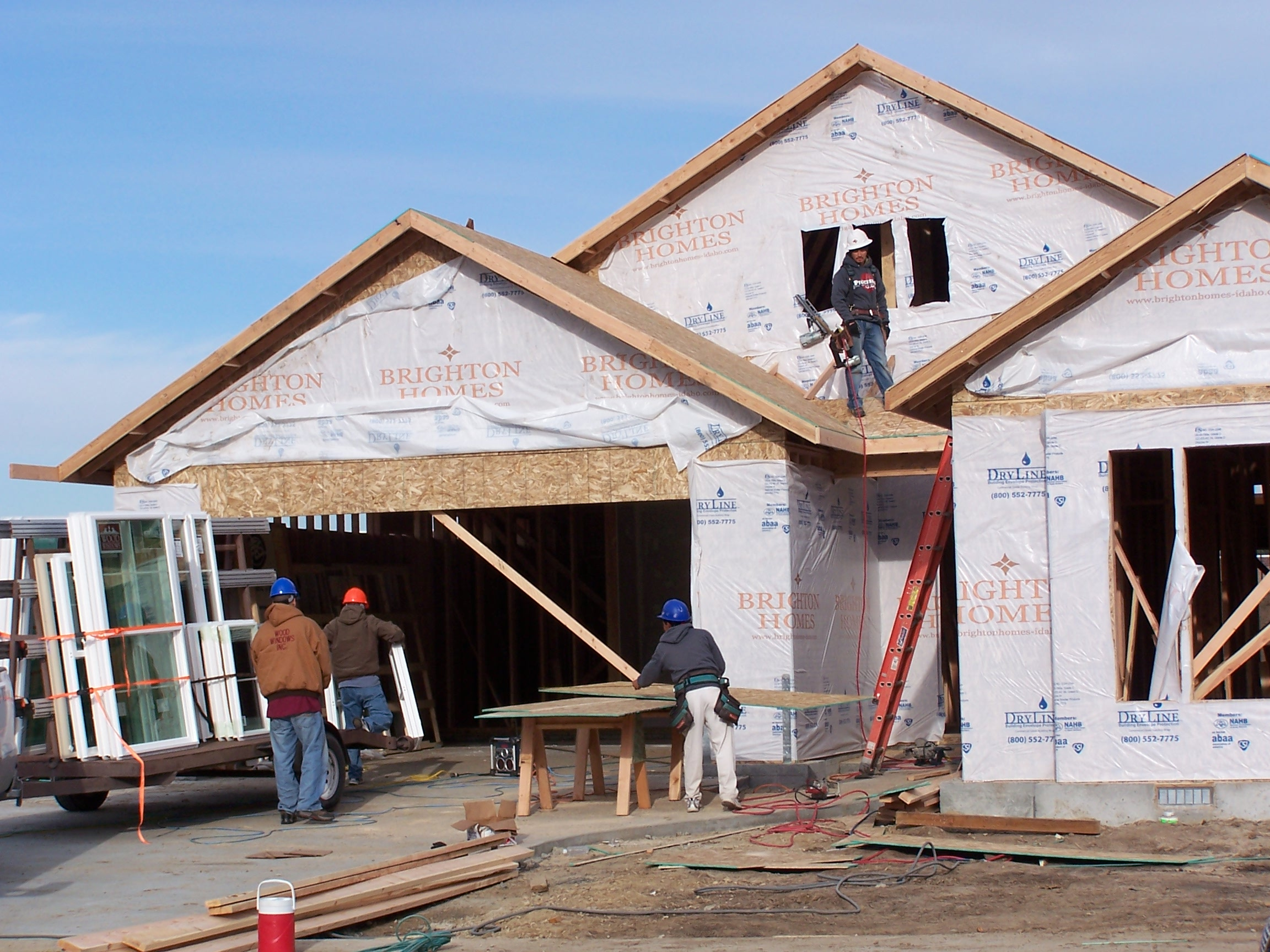 Us new home sales rise in sign of housing market health for Building a house in idaho