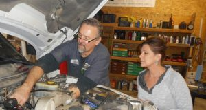 John and Julie Franklin are the team at Franklin Auto & Truck Repair in Marsing. Photo by Teya Vitu.