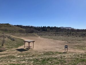 Boise plans to build a mountain bike skills park at the current site of a dog off-leash park near Fort Boise Park. Image courtesy of city of Boise.