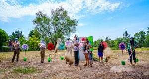 The groundbreaking ceremony for Caritas Commons